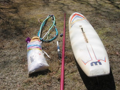 For Sale: Fanatic Lite Viper & Mistral Bermuda Windsurfers