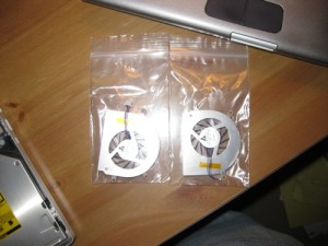 "MacBook Pro 17"" New Fans"